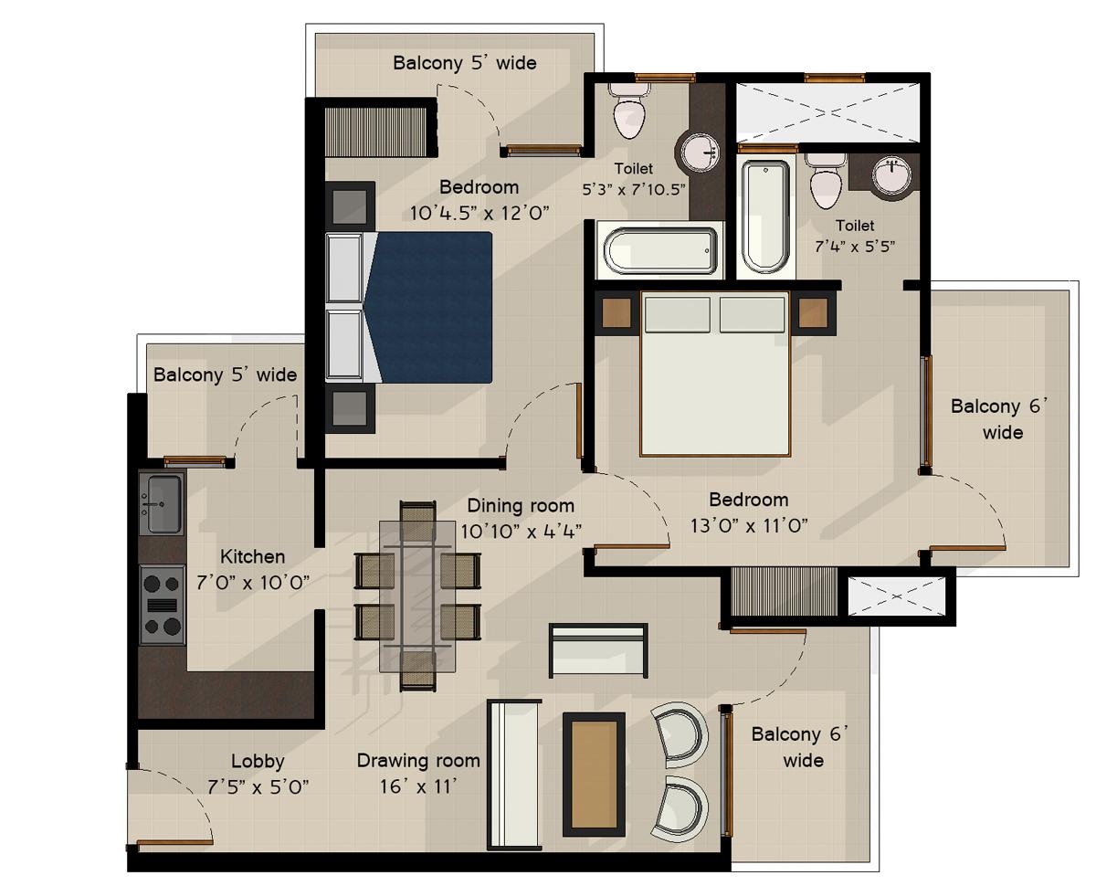 Ramprasthanxt for Zen house floor plan